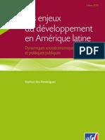 Les Enjeux Du Developpement en Amerique Latine