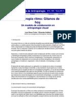 Gitanos Gazeta de Antropología
