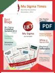 Mu Sigma Times 2012