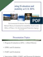 Mason_Integrating Evaluation and Accountability at EPA