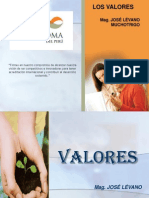 SESION 12 VALORES