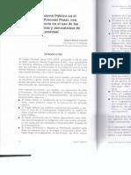 Retos Del Ministerio Publico en El Nuevo Codigo Procesal Penal, Con Especial Referencia en El Uso de Las Salidas Tempranas y Mecanismos de Simplificacion Procesal