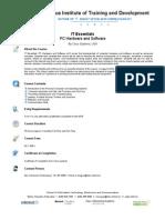 Flyer Courses - IT Essentials