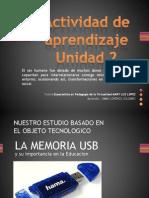 Actividad de Aprendizaje2 La Memoria Usb