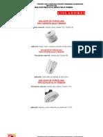 Catalogo de Aisladores Electricos