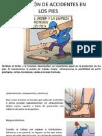 PREVENCIÓN DE ACCIDENTES EN LOS PIES