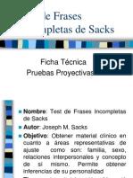 Test de Frases as de Sacks CALIFICARLO