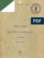 Reclams de Biarn e Gascounhe. - Octoubre-Noubembre 1937- N°1-2 (42e Anade)