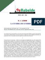 V.i.lenin-la Guerra de Guerrillas