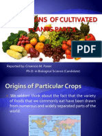 The Origins of Cultivated Plants Part 1