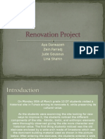 Renovation Project-Aya Dar Lina Jude Zein