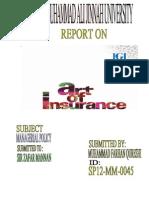 report M.P