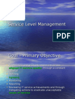 9 Service Level Mgt