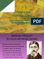 LITERATURA RENOVADORA