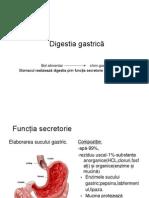 Digestia Gastrica intestinala Si Absorbtia