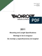 Monroe 71253 OESpectrum Sensa-Trac Strut