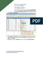 Curvas de Nivel - ArcMap - AutoCAD