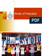 Study of Haryana
