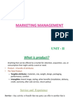Unit II - Product Development