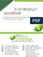 Institute of Product Leadership - Epgpl