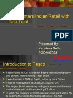 Tesco Enters Indian Retail With Tata Trent