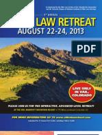 2013 Elder Law Retreat