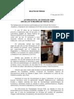 17/06/12 Germán Tenorio Vasconcelos laboratorio Estatal Se Consolida Como Uno de Los 10 Mejores en El Pais