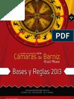CÁMARAS DE BARNIZ 9 FICPA 2013 Reglamento