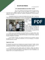 21/06/12 Germán Tenorio Vasconcelos SUPERVISA GTV UNIDADES MÉDICAS DE ISTMO Y COSTA