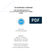 Project FINAL YEAR PROJECT REPORT