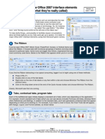 10 Things Office2007 Elements