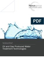 Oil and Gas Produced Water_Treatment Technologies