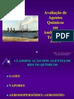 (2) 2-Agentes de Riscos Qimicos I e II- Gases, Vapores e Aerodispersoides