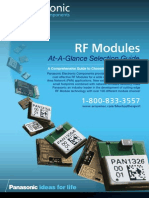 PAN Arrow RF Modules
