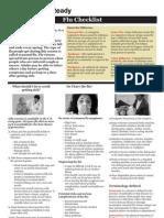 American Red Cross -- Swine Flu Checklist