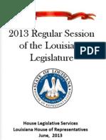 2013 Legislative Session Wrap Up (v2) - Updated June 7, 2013