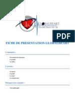 Recrutement - Fiche de présentation Global Heart