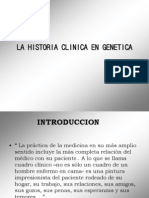 La Historia Clinica en Genetica 02