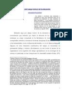 Acerca del campo teórico de la educación-Alexander Ruiz Silva
