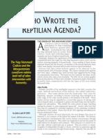 Archons&ReptilianAgenda