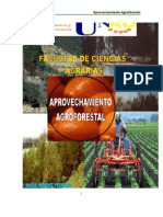 MAPROVECHAMIENTO AGROFORESTAL