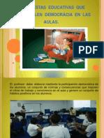 Diapositivas de Aulas Democraticas