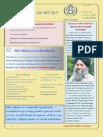The Alliance Quarterly