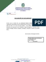 DECLARAÇÃO DE ESCOLARIDADE-EMEJA