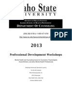 Idaho State University Professional Development Workshops