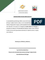 CONVOCATORIA DE PRENSA Nº 03-2013