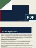 Mythopoiesis Presentation