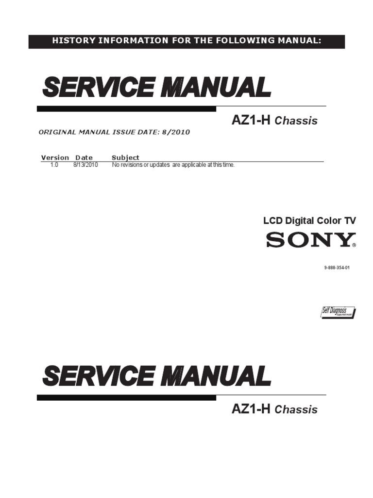Sony Kdl-40nx710_kdl40nx711 & Kdl-46nx710_kdl46nx711 Ch