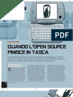 Quando l'open source finisce in tasca