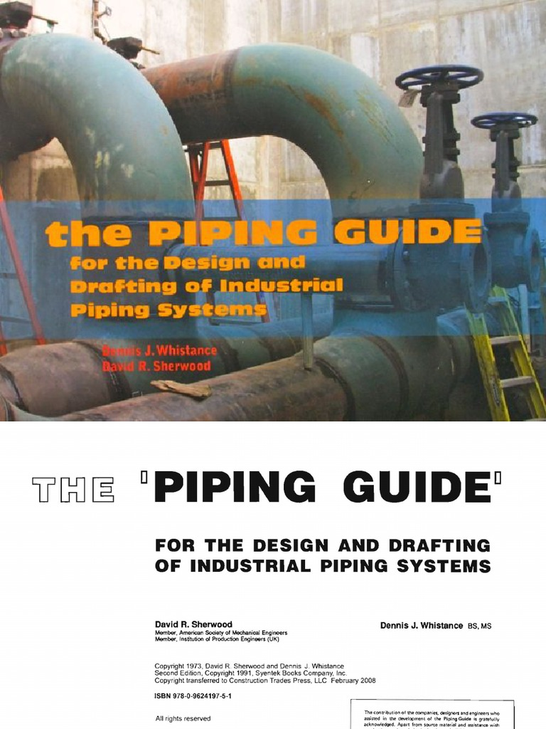 The piping guide : for the design and drafting of industrial piping systems